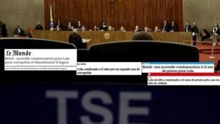 Imprensa europeia comenta a nova condenação do ex-presidente Luiz Inácio Lula da Silva.