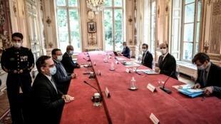 Nouvelle-Calédonie - discussions - paris - Sebastien Lecornu