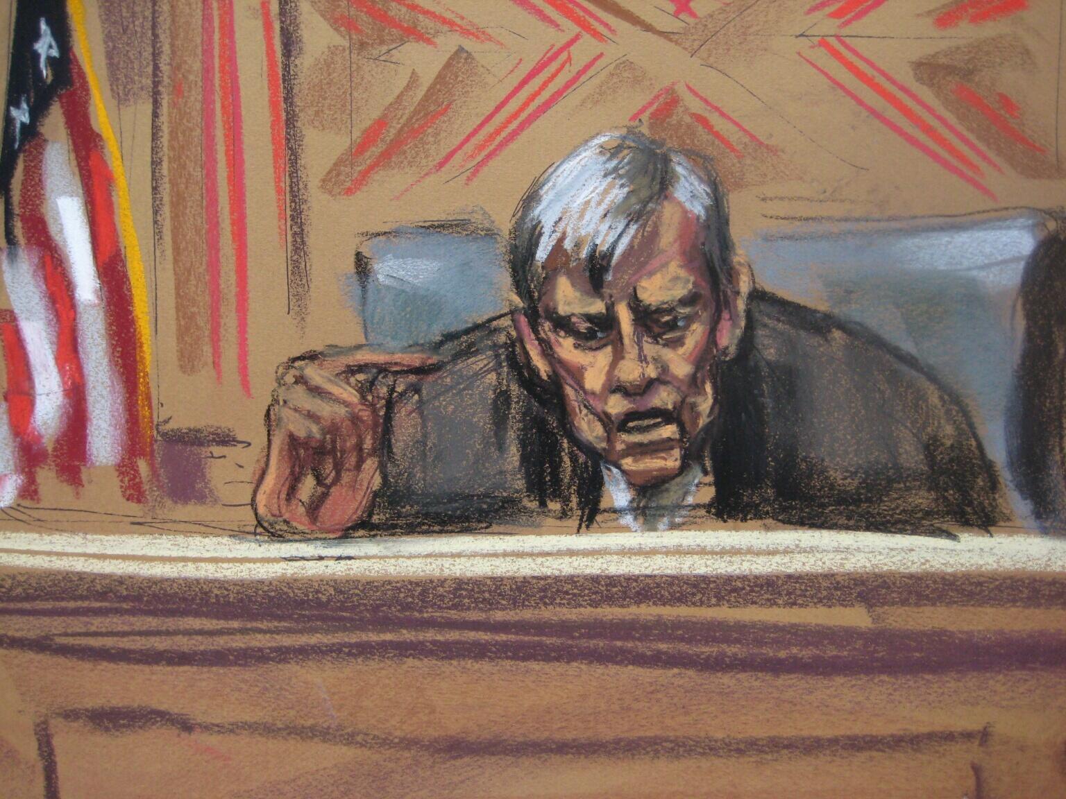 """El juez Griesa declaró el lunes a Argentina en """"desacato"""" civil por intentar eludir la sentencia en su contra."""