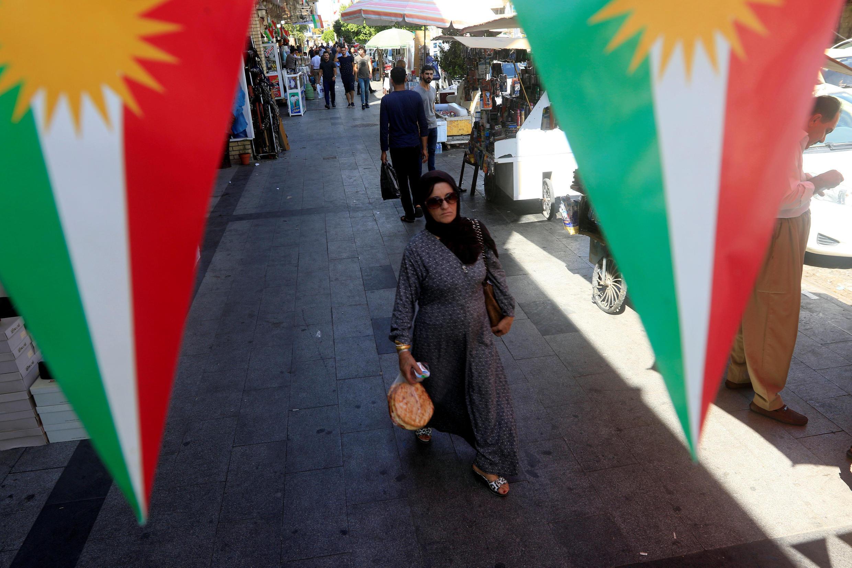 Au Kurdistan irakien se tiennent ce dimanche 30 septembre des élections législatives afin de renouveler le Parlement de la région autonome du nord de l'Irak (photo: Erbil).