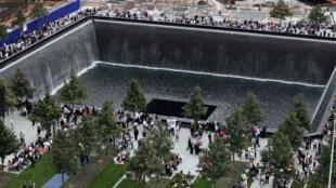 Marco Zero, em Nova York, onde ficavam as Torres Gêmeas, atacadas em 11/09/01.