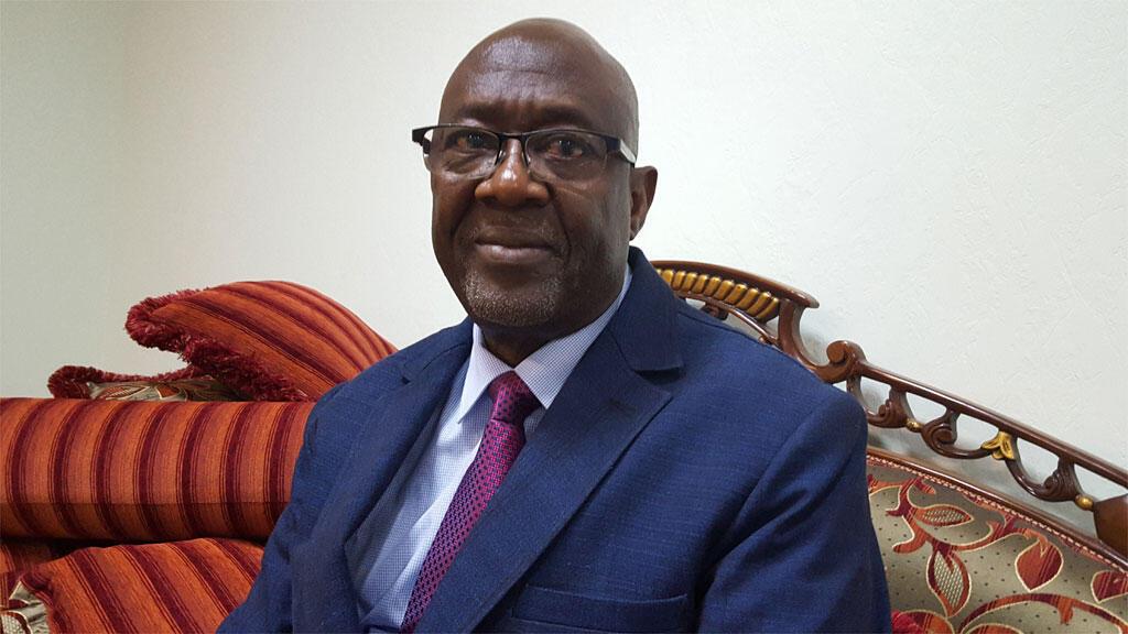 Jacob Ouédraogo, ministre burkinabè de l'Agriculture et des aménagements hydrauliques.