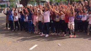 L'école primaire Roux-Tenon à Massy en région parisienne.