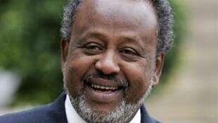 Ismaël Omar Guelleh, presidente do Jibuti desde 1999 candidato a um terceiro mandato.