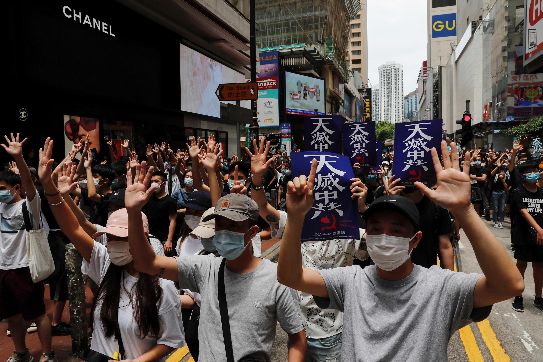 Hong Kong - manifestation