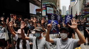 Hong Kong - manifestation