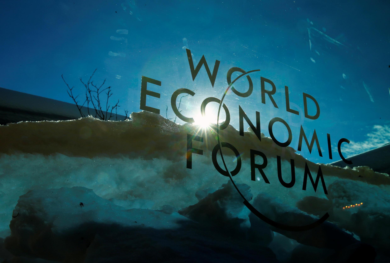 آرم نشست سالانه مجمع جهانی اقتصاد (WEF) در داووس