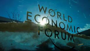 Forum économique mondial, World Economic Forum (WEF), Davos, Suisse, le 23 janvier 2019.