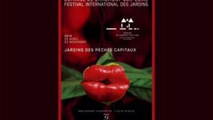 L'affiche du Festival international des Jardins de Chaumont-sur-Loire 2014.