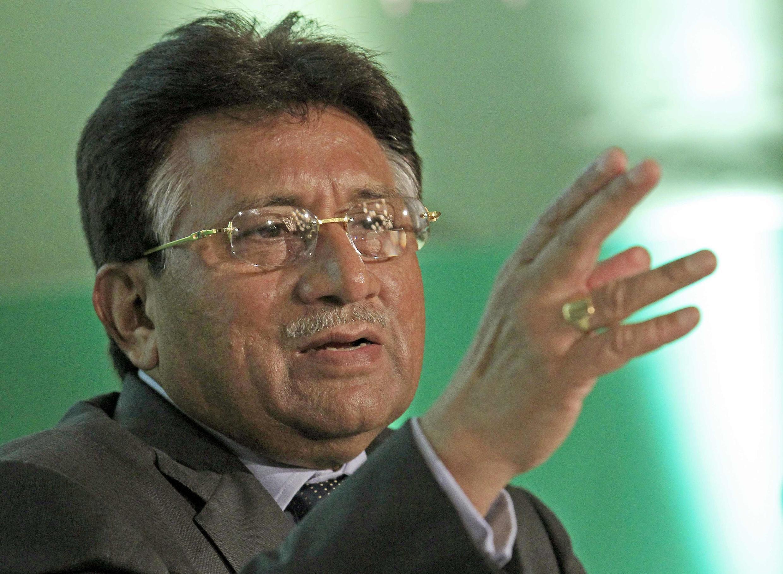 Pervez Musharraf, l'ancien président pakistanais,à Londres le 1er octobre 2010.