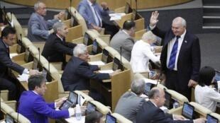 Quyết định của Hạ viện có nguy cơ làm giới đầu tư chuyển hàng loạt dịch vụ ra khỏi nước Nga - REUTERS /Sergei Karpukhin