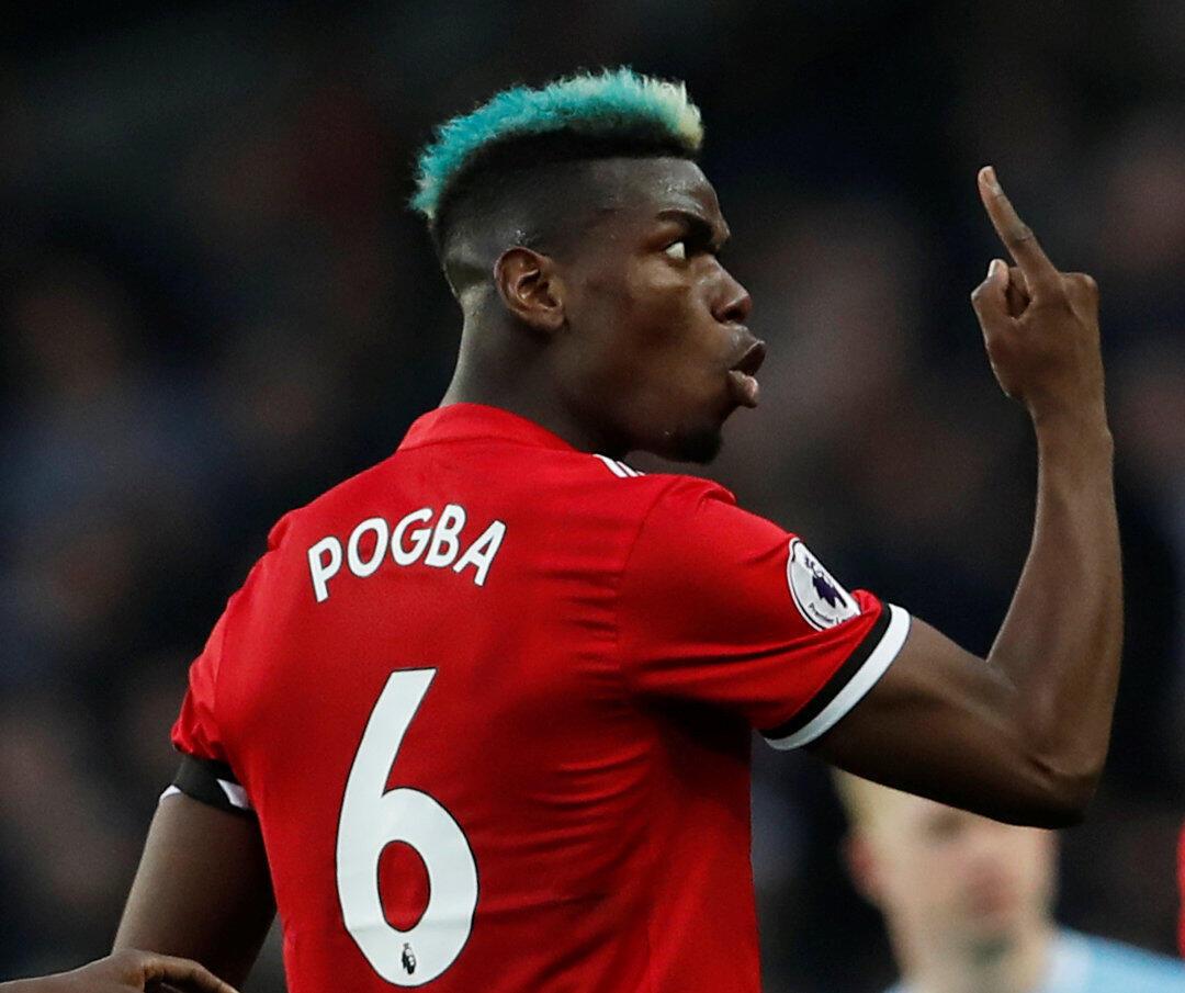 Dan wasan Manchester United, Paul Pogba.