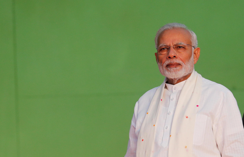 Le Premier ministre indien Narendra Modi à New Delhi le 19 décembre 2018.