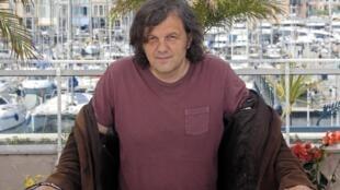 Serbian director Emir Kusturica, jury president for 'Un Certain Regard' at Cannes