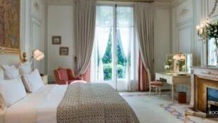 Una habitación del Ritz.