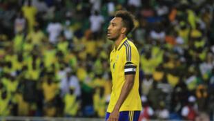 Le Gabonais Pierre-Emerick Aubameyang lors de la CAN 2017.