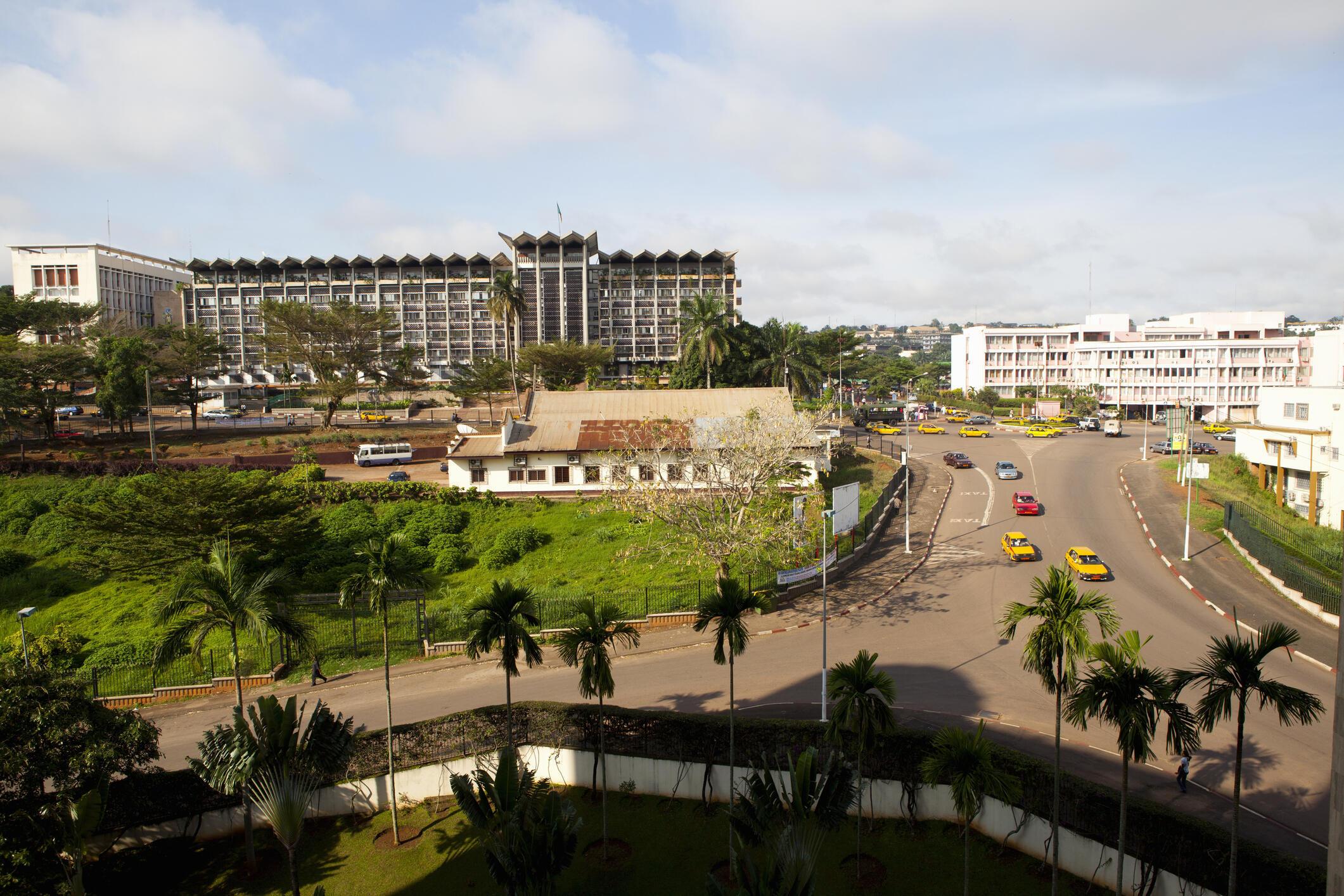 Vue de Yaoundé, capitale du Cameroun. (Photo d'illustration)