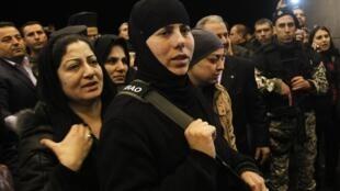 Монахини и послушницы, захваченные исламистами в приграничном районе с Ливаном, освобождены 10/03/2014