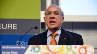 Angel Gurria, secrétaire général de l'OCDE, en février 2016.