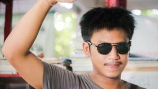 Член студенческого оппозиционного движения Таиланда Ятупат Боонпатараракса
