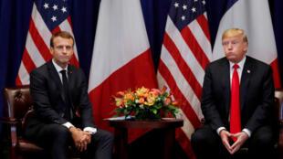 ایران، محور اصلی سخنرانی ترامپ و ماکرون در هفتادو چهارمین مجمع عمومی سازمان ملل در نیویورک.