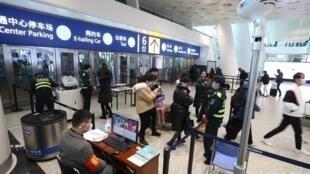 武漢天河機場。