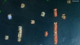 Tensions over the resource-rich waters have spiked in recent weeks after more than 200 Chinese boats were detected at Whitsun Reef, in the Spratly Islands, where China and the Philippines have rival claims
