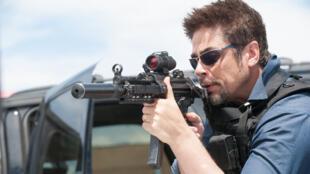 Benicio Del Toro dans « Sicario » de Denis Villeneuve, en lice pour la Palme d'or du Festival de Cannes 2013.