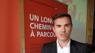 Aurélien Beaucamp, président de l'association AIDES et administrateur de Coalition PLUS.