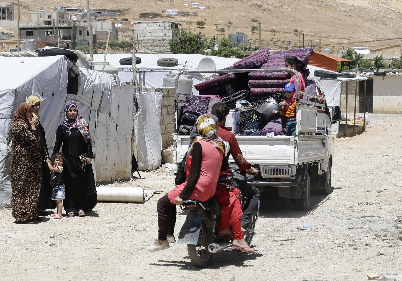 Un camp de réfugiés syriens dans la vallée de la Bekaa, au Liban, le 10 juin 2019 (image d'illustration).