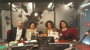De gauche à droite: Celso de Freitas, Sarany Ly, Emmanuelle Bastide et Ourida Nekkache.