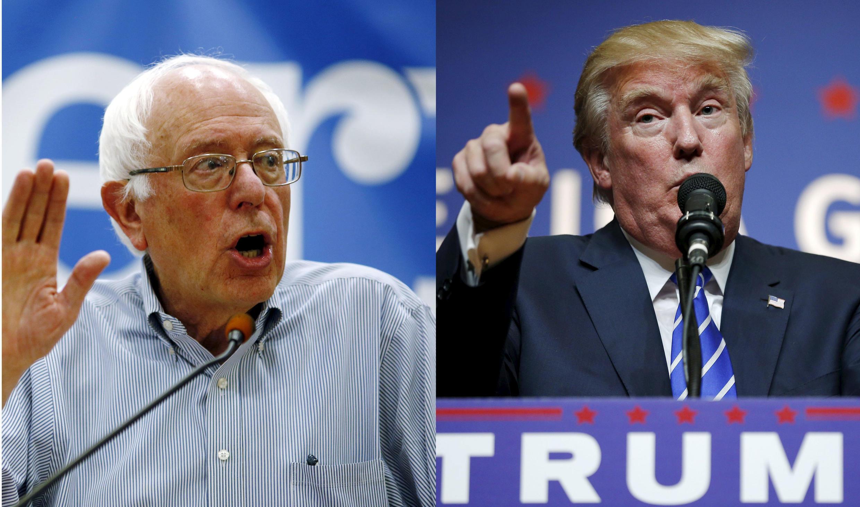 Bernie Sanders e Donald Trump