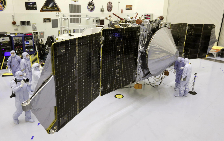 Vệ tinh Sao Hỏa của Ấn Độ đâng được chuẩn bị phóng lên vào ngày 5/11/2013.