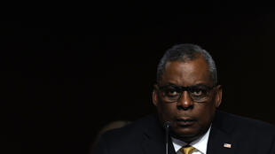 US Defense Secretary Lloyd Austin during a Senate Armed Services Committee hearing