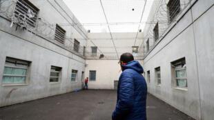 Le centre de rétention administrative du Canet, dans le sud de la France.