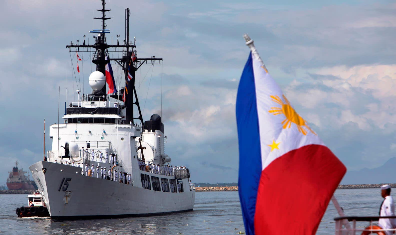 Image d'archive: Philippines' flagship frigate Gregorio Del Pilar
