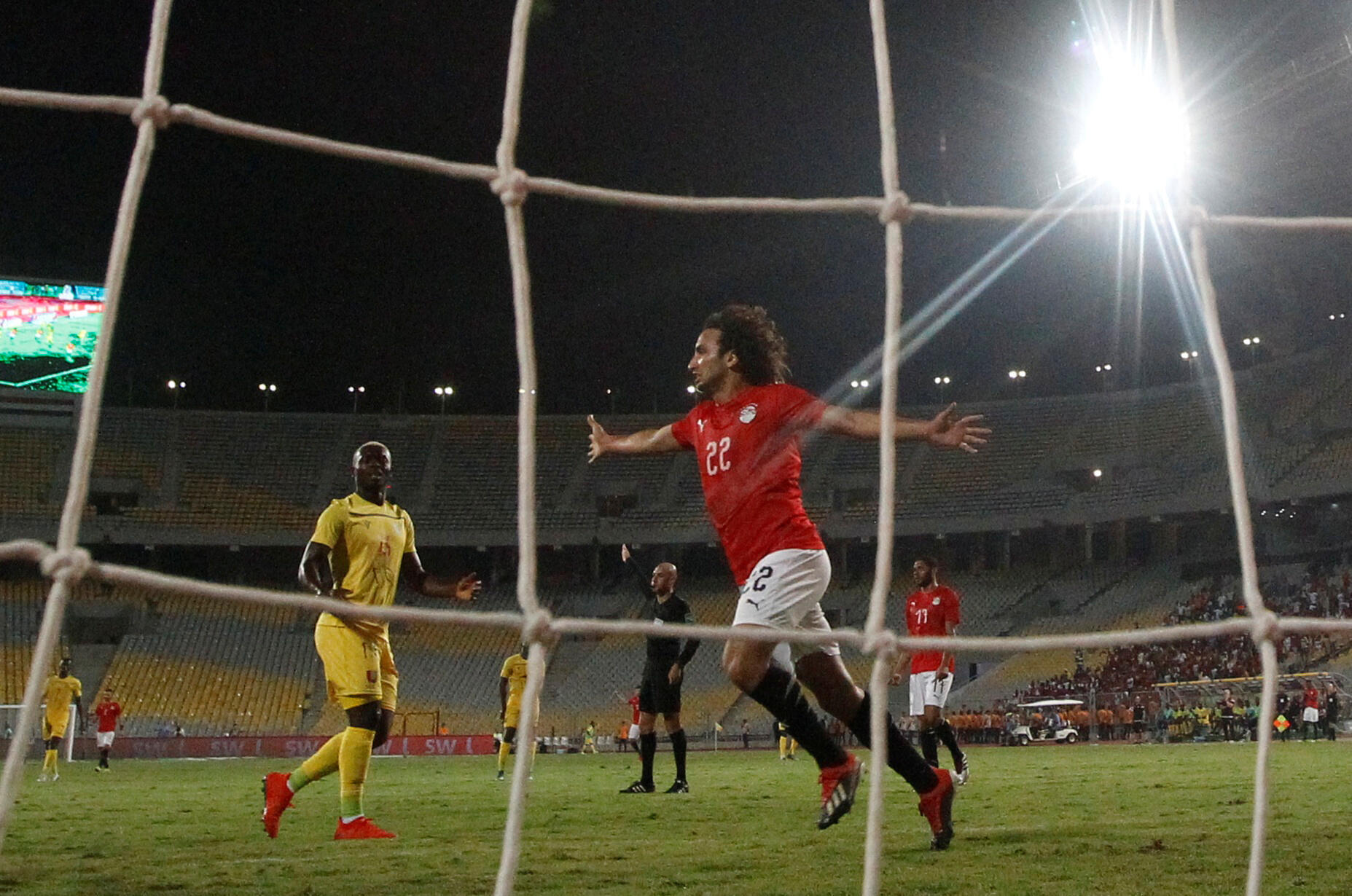 L'Egyptien Amr Warda.