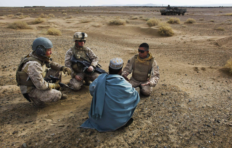 Interprète - Afghanistan - collaborateurs
