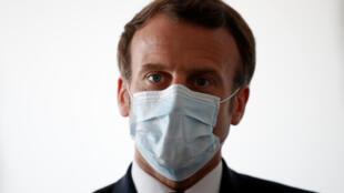 HEALTH-CORONAVIRUS-FRANCE-MACRON