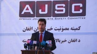 نجیب شریفی، رییس کمیته مصونیت خبرنگاران افغان