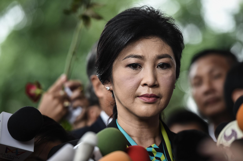 A ex-premiê tailandesa Yingluck Shinawatra