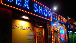 Sex shops in Pigalle, Paris
