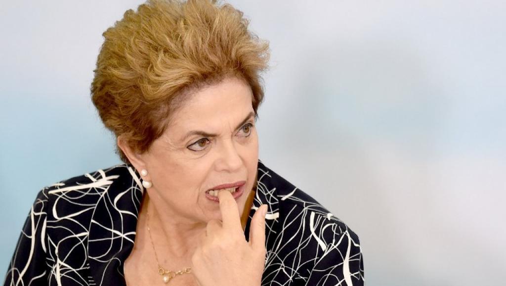 Rais wa Brazil Dilma Rousseff, Mei 6, 2016, katika Ikulu ya Planalto, Brasilia.