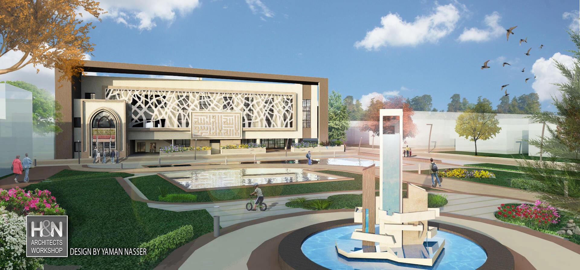 Design par Yaman Nasser, architects Workshop Sarl.