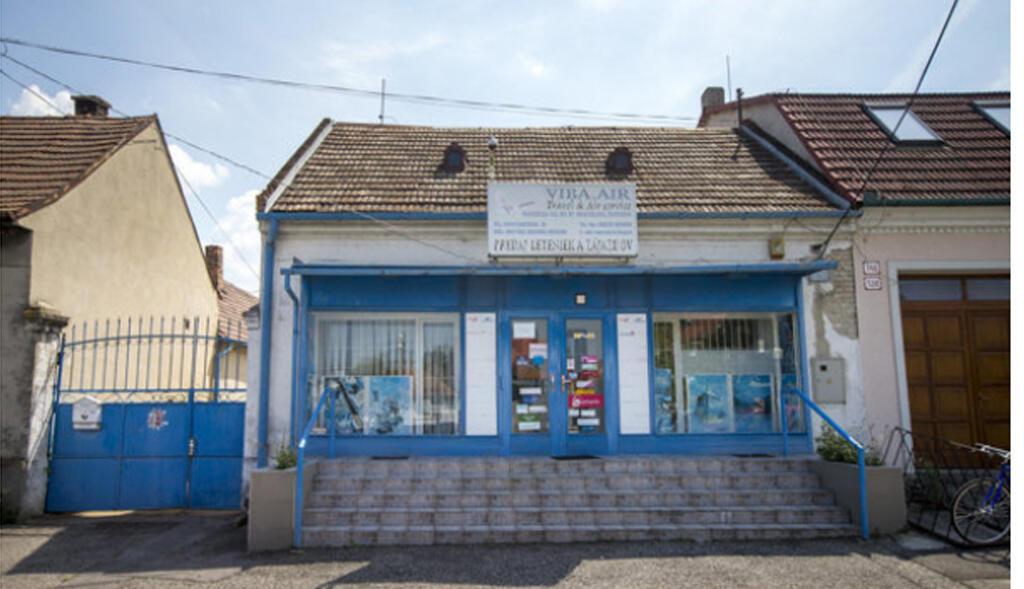 Trụ sở công ty VIBA.AIR tại Slovakia (Ảnh chụp từ web spectator.sme.sk)