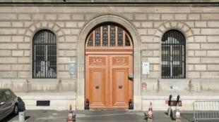 Sede da polícia francesa no centro de Paris, no quai des Orfèvres, 36.