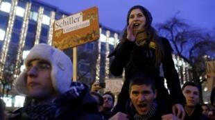 Школьники протестуют в Будапеште против реформы образования