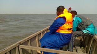 Sur le Lac Tchad.