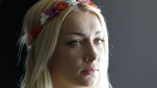 Лидер Femen Инна Шевченко