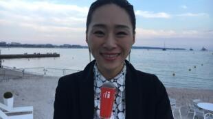台湾女演员《灼人秘密》女主角吴可熙接受本台专访,2019年5月25日。